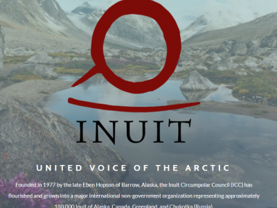 Inuit Circumpolar - ICC Canada - ICC Alaska - ICC Greenland - ICC Chukotka